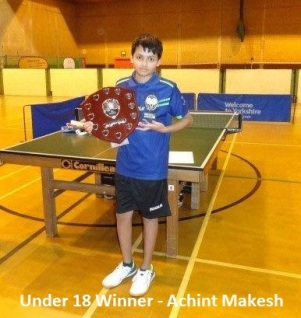 U18 Winner-Achint Makesh